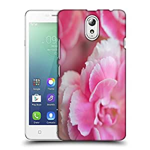Snoogg Pink Petals Designer Protective Back Case Cover For LENOVO VIBE P1