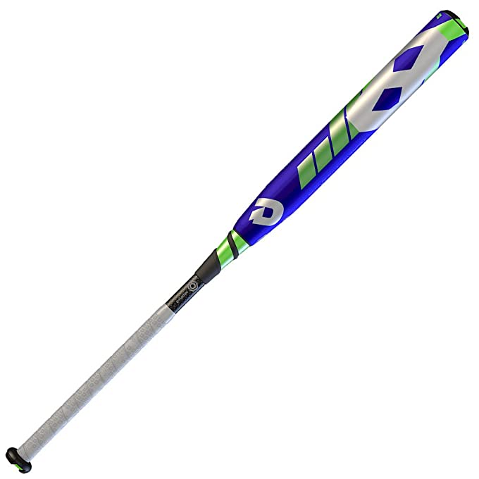 DeMarini 2016 CF8 Insane Fastpitch Bat (-10), Purple/Optic Green/White