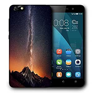 Snoogg Milky Way Above The Mountains Printed Protective Phone Back Case Cover For Huawei Honor 4X