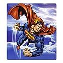 Superman Man of Steel Child Fleece Throw Blanket