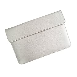 i-KitPit : PU Leather Pouch Case For Huawei Mediapad (WHITE)