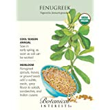 Fenugreek Certified Organic Heirloom Seeds