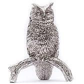 フクロウ(Lサイズ) イギリス製 アニマル アート フィギュア コレクション