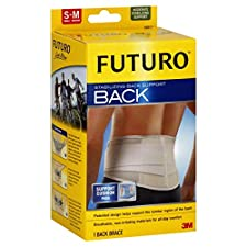 Futuro Stabilizing Back Support, Moderate Stabilizing Support, Small - Medium, 1 brace