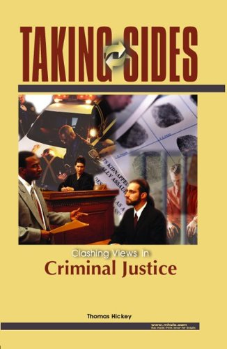 Taking Sides: Clashing Views on Controversial Issues in Criminal Justice PDF