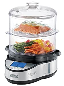 Dr. Weil 9817 The Healthy Kitchen 2-Tier Electronic Food Steamer