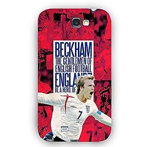 EYP Manchester United Beckham Back Cover Case for Samsung Note 2
