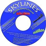 Software - Vektoren CD / DVD 2 - 200 Skylines St�dte Deutschland in 4 Designs 800 St�ck f�r Wandtattoos, Aufkleber, Textildruck