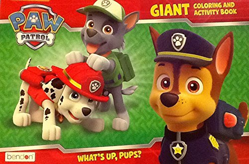 "Paw Patrol ""What's Up, Pups?"" ~ Oversized Giant Coloring & Activity Book ~ Games Mazes Puzzles 16"" X 11"" 24 Pages - 1"