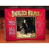 Sherlock Holmes 2015 Wall Calendar (9x12)