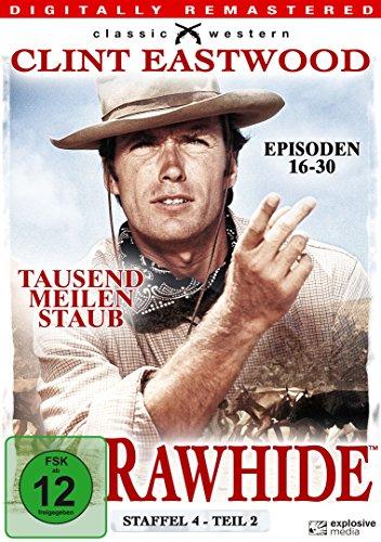 Rawhide - Tausend Meilen Staub - Season 4.2 [4 DVDs]