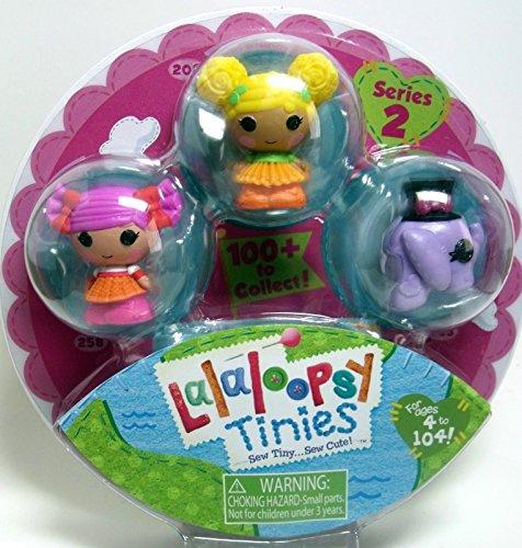 Lalaloopsy Tinies Figures Series 2 (531647) 3 Pack