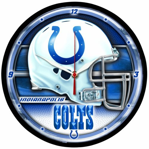 Indianapolis Colts WinCraft Chrome Clock