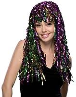 Rubie's Costume Mardi Gras Tinsel Wig