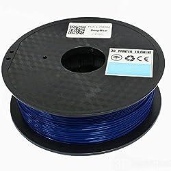 3D Innovations 3D Printer Filament (1 Kg, PLA, Deep Blue,1.75 mm Dia.)