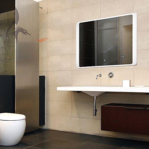 Badspiegel-LED-mit-digital-Uhr-Hannover-70x50cm-Badezimmerspiegel-mit-Uhr-Energieklasse-A
