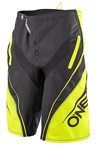 O' Neal da MTB Short Element FR Blocker Nero/Hi Viz, Gelb, 32
