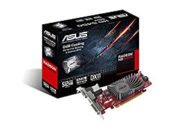 ASUS EAH5450 SL/DI/512MD3/MG(LP) Silent Series Radeon HD 5450 OdB Cooling Graphics Card