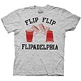Always Sunny In Philly - Flipadelphia Adult T-Shirt In Ash Grey