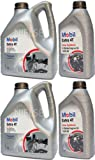 Mobil Extra 4T 10w40 Semi Synthetic Engine Oil MOB-142322-10 2x4L+2x1L=10L