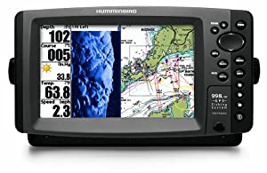 Humminbird 4087201  998C HD SI Combo Side Imaging Down Imaging Dual Beam Fishfinder and GPS with Ethernet by Humminbird