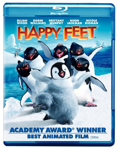 Cover art for  Happy Feet [Blu-ray]