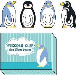 パインブック ファイバーペーパークリップピッコロ ペンギン 0.8mm厚 FC00010