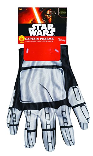 Captain Phasma Adult Costume Gloves