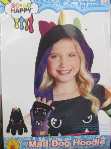 Rubies So-So Happy Mad Dog Hood, Child Size