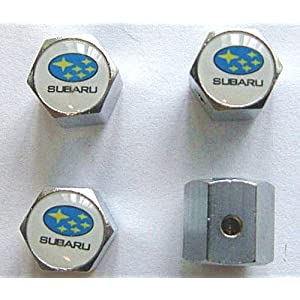 Subaru Anti-theft Car Wheel Tire Valve Stem Caps
