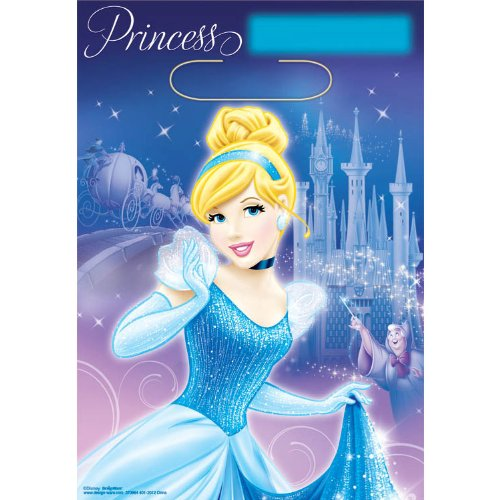 Cinderella 'Sparkle' Favor Bags (8ct)