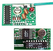 Details about 2KM Long Range RF Link Transceivers Kits With Encoder And Decoder
