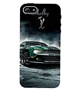 D KAUR Racing Car Fans Back Case Cover for Apple iPhone 5::Apple iPhone 5S