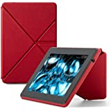 Amazon Kindle Fire HD Standing Leather Origami Case (3rd Generation - 2013 release), Red