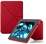 "Amazon Kindle Fire HD Standing Leather Origami Case (will only fit All New Kindle Fire HD 7""), Red"