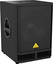 Behringer EUROLIVE VQ1500D Professional Active 500-Watt 15-Inch PA Subwoofer with Built-In Stereo Crossover from MUSIC Group Commercial LU Sarl