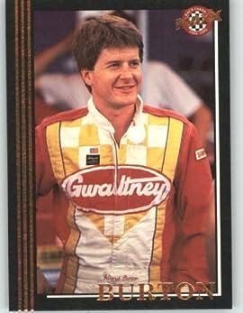 1992 Maxx Black Racing Card # 86 Ward Burton - NASCAR Trading Cards