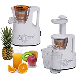 100 Gourmet Recipes For The Slow Juicer Download : Amazon.com: Brand New 150W Convenient Slow Juicer Electric ...