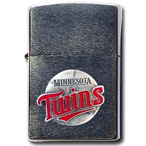 MLB Minnesota Twins Zippo Lighter by Siskiyou Sports