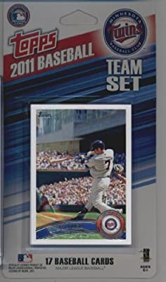 2011 Topps Limited Edition Minnesota Twins Baseball Card Team Set (17 Cards) - Not Available In Packs!!