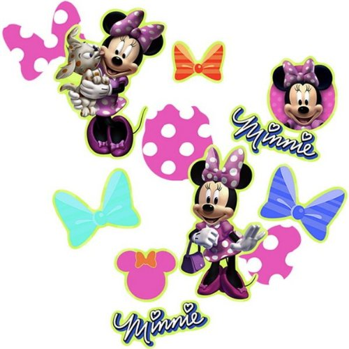 Disney Minnie Mouse Bow-tique Confetti Party Accessory - 1