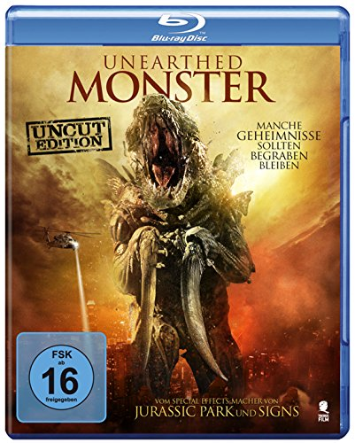 Unearthed Monster (Uncut) [Blu-ray]