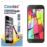 Casotec Tempered Glass Screen Protector for Intex Aqua Q7 Pro