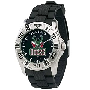 NBA Mens BM-MIL MVP Series Milwaukee Bucks Watch by Game Time