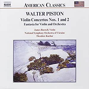 Piston: Violin Concertos Nos. 1 and 2