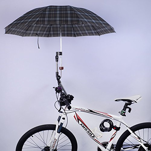 Wheelchair Bicycle Bike Chair Umbrella Connector Holder Mount Stand front-695838