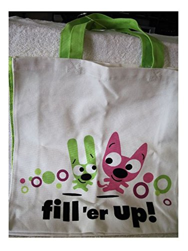 HYO3463 Hoops & Yoyo Fill 'er Up! Canvas Tote Bag by Hallmark