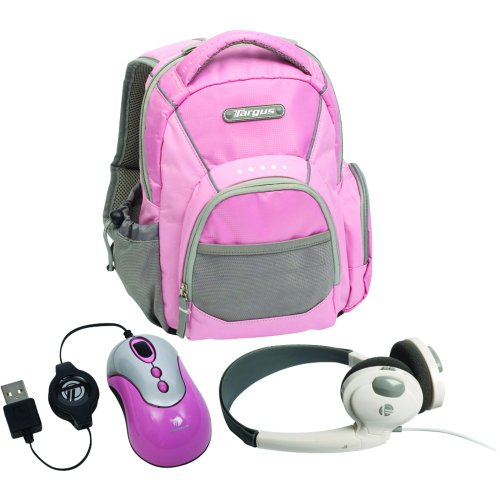 Targus Bus0182 My 1St Pc Mini Netbook Accessory Bundle (Pink)