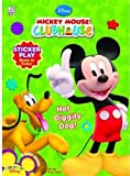 Disney Mickeys Clubhouse: Hot Diggity Dog! Sticker Play Book to Color (Disney Mickey Mouse Clubhouse)