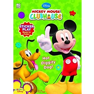 Mickey mouse clubhouse hot diggity dog dalmatian press